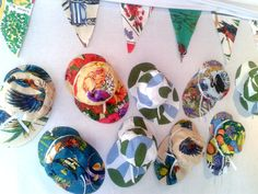 darling sunhats - now in girly designs and in Marimekko fabric as well