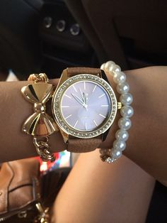 Bows and big watches