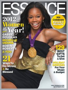 legallyunderage:    binnielove:    Gabby Douglas Covers The December 2012 Issue of Essence Magazine     flawless queen