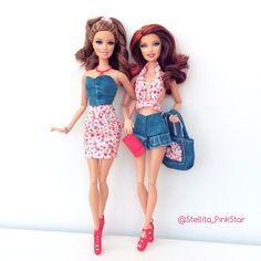 handmade outfits by Stellita Pinkstar For Barbie. conjuntos hechos a mano por Stellita Pinkstar
