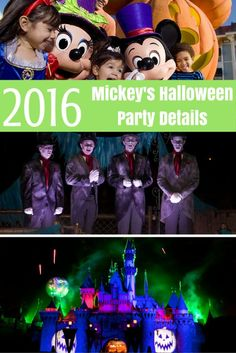 They've finally been released, Mickey's Halloween Party 2016 dates are here! It's time to start planning your Halloween Time visit to Disneyland!