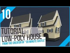 Blender Tutorial: Low Poly House - YouTube
