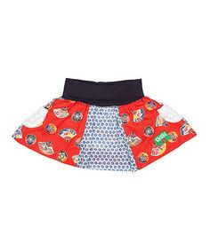 Look at this #zulilyfind! Red Rosen Skirt - Infant, Toddler & Girls by Oishi-m #zulilyfinds