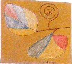 Hilma af Klint Abstract Painters, Abstract Art, Modern Art Pictures, Hilma Af Klint, Painting & Drawing, Agnes Martin, Illustration Art, Klimt, Drawings