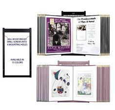 Wall Flip File Displays, Huge Selection and all on this website page
