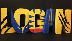 These XMen Wolverine Letters are a delightful decoration to celebrate the birthday boy at an Xmen party.