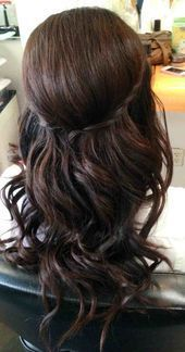 updos half up . we love how this ornate hair piece helps create a simple and yet beautifully put together bridal hair half up . fishtail braid half- updo for short, medium, and long hair Simple Bridal Hairstyle, Asian Bridal Hair, Bridal Hair Half Up, Wedding Hair Half, Bridesmaid Hair Half Up, Hairdo Wedding, Asian Hair, Indian Bridal, Half Updo Hairstyles