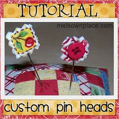 Mel's Own Place: Pin Head {tUtORiaL}
