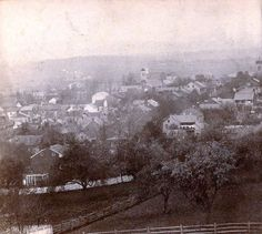 Gettysburg, view of the town