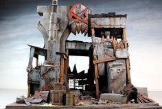 3t, Fort, Metal, Orks, Scrap, Scratch, Terrain, Urban