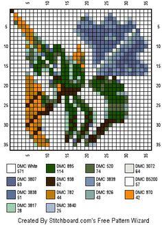 Seltas Stitch pattern