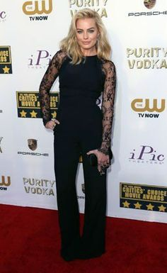 Critics' Choice Awards 2014: See All The Best Red Carpet Looks! Feeling this jump suit!