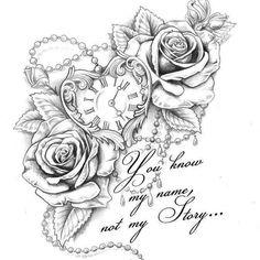 dessins de tatouage 2019 Half sleeve tattoos for men and women ideas 46 - Tattoo Designs Photo Neue Tattoos, Body Art Tattoos, Tattoo Drawings, Tatoos, Tattoos Pics, Henna Tattoos, Tattoos Gallery, Thigh Tattoo Quotes, Tattoo Images