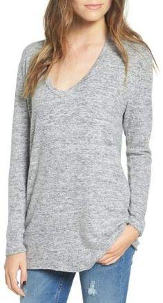 BP. V-Neck Long Sleeve Sweater