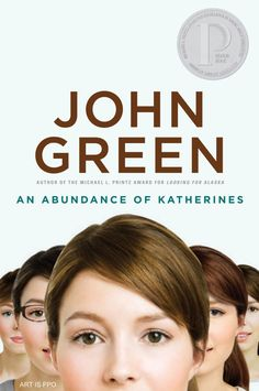 An Abundance of Katherines by John Green.  My least favourite of John's books, BUT I did still enjoy parts of it, AND a lot of people love it, so... read it, dammit :-P
