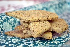 Biscotti salati al grano saraceno Bimby