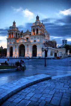 Catedral de la ciudad de Córdoba. Argentina