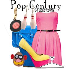 """Pop Century Resort"" by lalakay on Polyvore #disney"