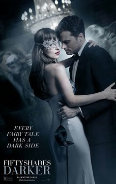 Every fairy tale has a dark side. / loving this new poster ! / fifty shades darker / valentine's day