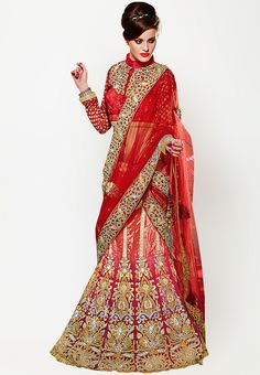 Buy online red crystal and embroidered bridal lehenga choli. This bridal lehenga choli is made with exclusive crystal and embroidered. Shop online beautiful bridal lehenga choli now. Lehenga Style, Red Lehenga, Indian Lehenga, Designer Bridal Lehenga, Bridal Lehenga Choli, Wedding Sarees Online, Saree Wedding, Wedding Dress, Indian Bridal Wear