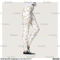 Gold Sparkle Leggings