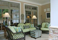 Front porch: outdoor living room | ImpartingGrace.com