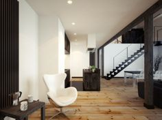 This Loft Designed By Oskar Firek Is Insanely Awesome - Airows