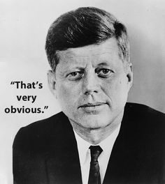 John F. Kennedy / Vespasian / The Last Words Of 17 Historical Figures (via BuzzFeed)