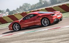 Ferrari 488 GTB  Much ado has been made about Ferrari's transition to turbocharging. And yes, it's true that the 488 can't quite offer the searing engine note of its predecessor, the 458. Nevertheless, it's just as fantastic to drive, if not more so, and feels every bit a Ferrari in every other way; it's pricey, but it's the real McCoy.