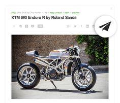 Introducing Custom Sharing Ktm 690 Enduro, Make Money Now, Lead Generation, Big