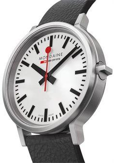 Mondaine stop2go Swiss -Silver