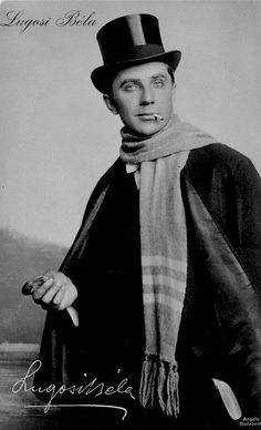 A young Bela Lugosi, c.1917.    Can you see what that is in his hand? It's a monocle. That's right. Goshdarn this man is suave. Dracula Cape, Count Dracula, Wwi, American Actors, Horror Films, Trench, Costumes, Celebrities, Atypical