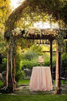 backyard utah wedding