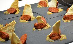 Emplatando el chorizo a la sidra con sidra Bereziartua Gourmet #gastroexperiencias