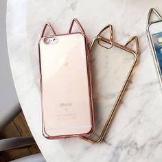 SEGEL - Cat Ear Case for iPhone 6 / 6 Plus / 7 / 7 Plus