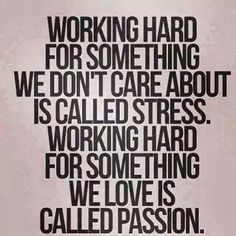 Yes, today would have been so hard if I did not LOVE doing what I do