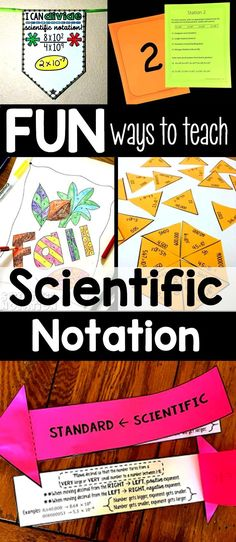 Scientific Notation is one of those things I don't at all remember learning. I mean, it must have happened somewhere along the line, but where that was is a complete mystery. Maybe it was during those foggy junior high years when I was much more concerned
