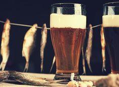 Tempurá e cerveja