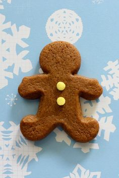 "Soft chewy gingerbread cookies- these are so good - the dough is perfect. small cut outs=8 mins for us, 5"" gingers=10 mins. LOVE!"