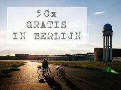 Berlijn duur? Echt niet! In dit artikel zet ik mijn 50 favoriete gratis activiteiten op een rijtje. Daar kun je even mee vooruit!