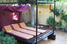 asian patio by m.a.p. interiors inc. / Sylvia Beez.Maybe I can afford this one :)