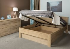 Oleo collection - bedroom ideas #comfortablebed #WoodenBed #WoodenFurniture #Bedroom