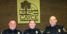 Honoring three officers that saved the life of a Dispatcher #Honor #PoliceLivesMatter #CaycePride