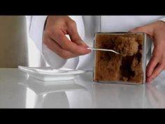 Molecular Gastronomy - Frozen chocolate wind - Vent glacé au chocolat