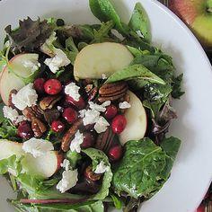 A Reader Recipe: Apple Cranberry Pecan Salad