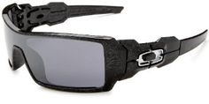 Oakley Men's Oil Rig Iridium Sunglasses,Polished Black Frame/Black Lens,one size « Holiday Adds Discount Sunglasses, Cool Sunglasses, Sunglasses Online, Oakley Sunglasses, Matte Black, Black Silver, Apocalyptic Clothing, Oil Rig, Rigs