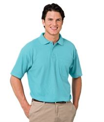 MEN'S VALUE SOFT TOUCH PIQUE POLO is most attractive and everybody like to wear most of the time. Features Easy Care 65/35 poly/cotton blend 5.5 Ounce Wrinkle Resistant Rib Knit Collar - Curl Free Banded Sleeves Straight Bottom Side Vents Taped neck & Shoulders Matching Buttons Tag Free Label Sizes S-6XL (Classic fit)