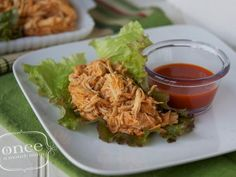 Chicken Recipe : Gluten Free Dairy Free Buffalo Chicken Lettuce Wraps