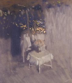 Night terrace - Bato Dugarzhapov