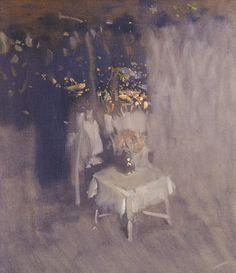 Night terrace - Bato Dugarzhapov